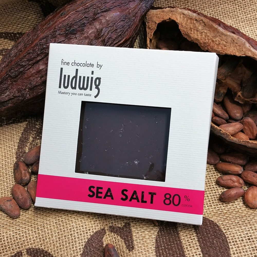80 % extra dark with Sea Salt